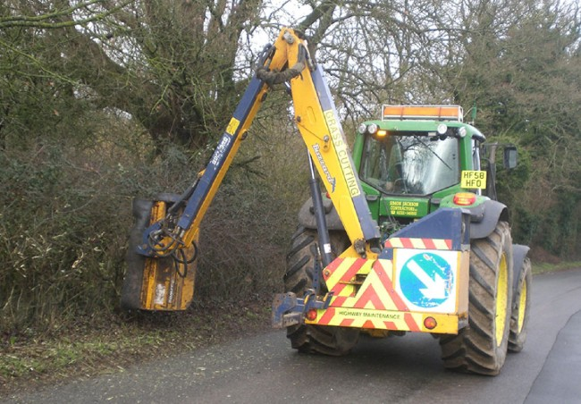 Agricultural Hedge Cutting